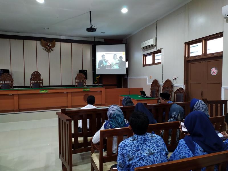 Nonton Bersama Live Streaming Launching e-Litigasi dan Hymne MA