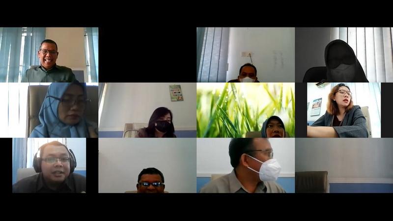 Rapat Virtual Hakim Pengawas Bidang - April 2021