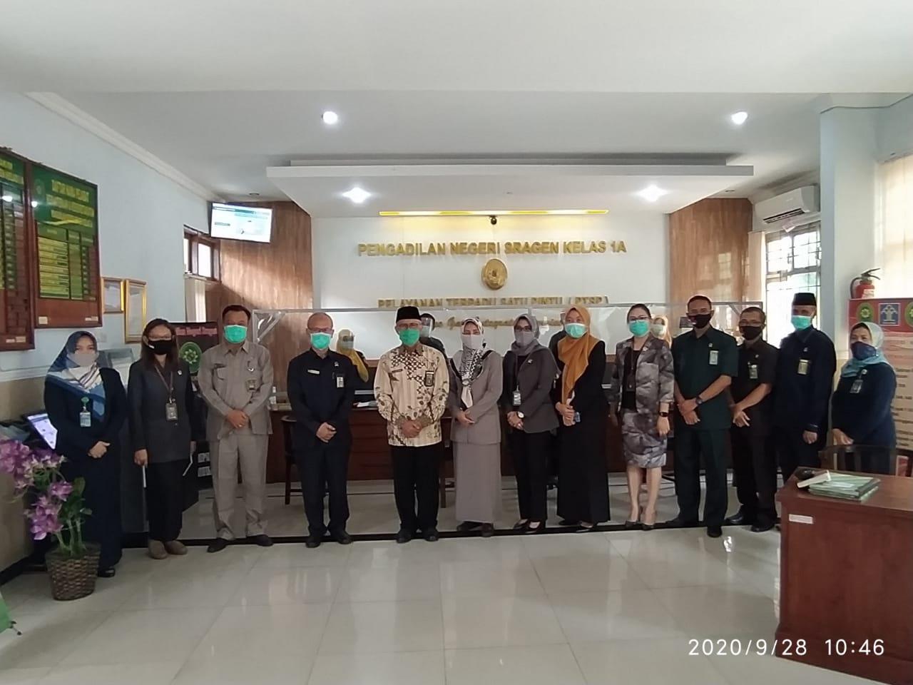 Pembinaan Dan Pengawasan Ketua Pengadilan Tinggi Jawa Tengah
