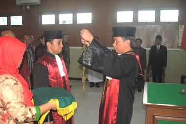 Pelantikan Wakil Ketua Pengadilan Negeri Sragen Kelas 1B Serta Pengantar Tugas dan Purna Tugas