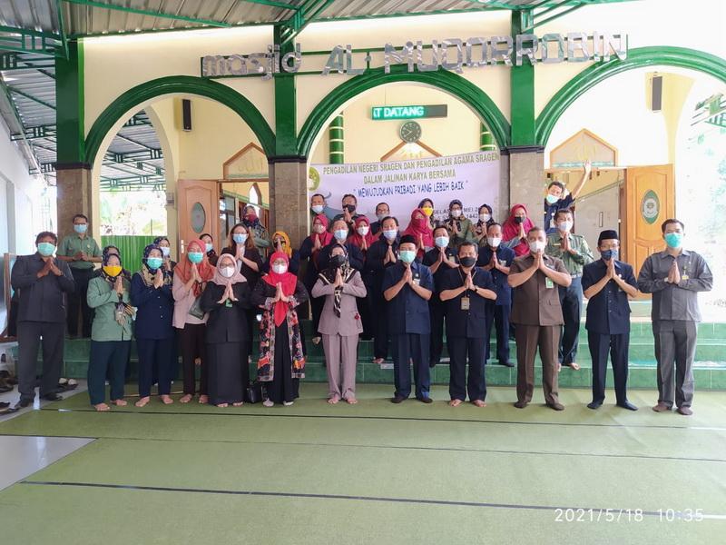 Pengadilan Negeri Sragen dan Pengadilan Agama Sragen dalam Jalinan Karya Bersama